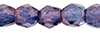 Fire-Polish 3mm : Luster - Transparent Amethyst