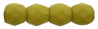 Fire-Polish 3mm : Saturated Chartreuse