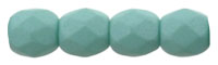 Fire-Polish 3mm : Saturated Teal