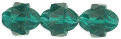 Antique Style Faceted 12 x 9mm - Oval : Emerald