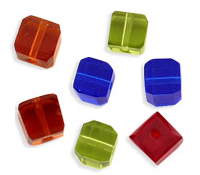 Faceted Cubes 6mm