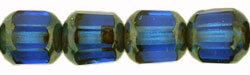 Antique Style Octagonal 8mm : Sapphire