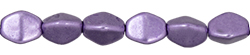 Pinch Beads 5/3mm : ColorTrends: Saturated Metallic Crocus Petal