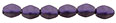 Pinch Beads 5/3mm : Metallic Suede - Purple