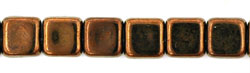 Small Flat Squares 6mm : Dk Bronze