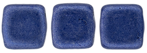 CzechMates Tile Bead 6mm : ColorTrends: Saturated Metallic Navy Peony
