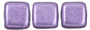 CzechMates Tile Bead 6mm : ColorTrends: Saturated Metallic Crocus Petal