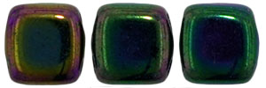 CzechMates Tile Bead 6mm : Iris - Purple