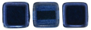 CzechMates Tile Bead 6mm : Mirror - Denim