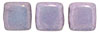 CzechMates Tile Bead 6mm : Luster - Opaque Amethyst