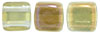 CzechMates Tile Bead 6mm : Twilight - Jonquil