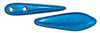 CzechMates Two Hole Daggers 16 x 5mm : ColorTrends: Saturated Metallic Galaxy Blue