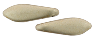 CzechMates Two Hole Daggers 5/16mm : ColorTrends: Sueded Gold Cloud Dream