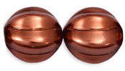 Melon Rounds 14mm : ColorTrends - Bronze
