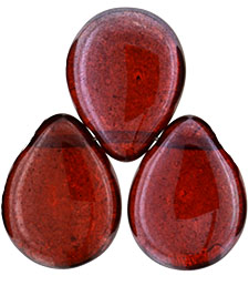 Pear Shaped Drops 16 x 12mm : Hyacinth - Bronze Vega