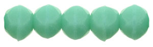 English Cut Round 3mm : Turquoise