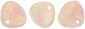 Rose Petals 8/7mm : Sueded Olive Milky Pink