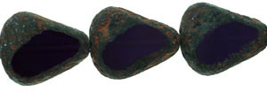 Chunky Table Cut Drop Nugget 19 x 16mm : Tanzanite - Stone Picasso