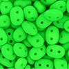"SuperDuo 5 x 2mm Tube 2.5"" : Neon Green"