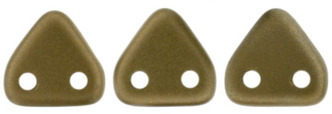 CzechMates Triangle 6mm : Satin - Bullion