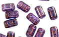 "Rulla 5 x 3mm Tube 2.5"" : Luster - Transparent Amethyst"