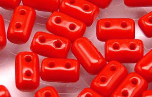 "Rulla 5 x 3mm Tube 2.5"" : Opaque Red"