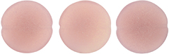 Cushion Round 14mm : Sueded Gold Milky Pink
