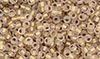 Matubo Seed Bead 8/0 : Matte - Rosaline - Bronze Ice-Lined