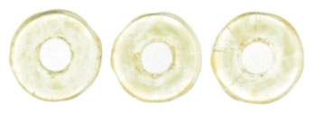 Ring Bead 1/4mm : Luster - Transparent Champagne
