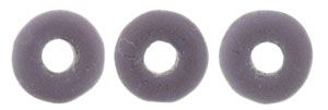 Ring Bead 1/4mm : Matte - Opaque Purple
