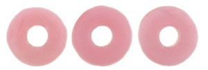 Ring Bead 1/4mm : Matte - Coral Pink