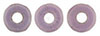 Ring Bead 1/4mm : Luster - Opaque Lilac