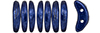 CzechMates Crescent 10 x 3mm : ColorTrends: Saturated Metallic Evening Blue