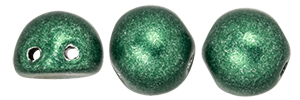 CzechMates Cabochon 7mm : ColorTrends: Saturated Metallic Martini Olive