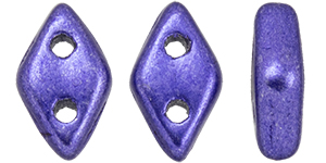 CzechMates Diamond 6.5 x 4mm : ColorTrends: Saturated Metallic Ultra Violet