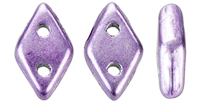 "CzechMates Diamond 6.5 x 4mm Tube 2.5"" : ColorTrends: Saturated Metallic Grapeade"