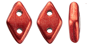 "CzechMates Diamond 6.5 x 4mm Tube 2.5"" : ColorTrends: Saturated Metallic Cranberry"