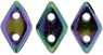 CzechMates Diamond 4x6.5mm : Iris - Purple