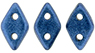 PRE-ORDER CzechMates Diamond 4x6.5mm : Metallic Suede - Blue
