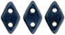 PRE-ORDER CzechMates Diamond 4x6.5mm : Metallic Suede - Dk Blue