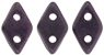 PRE-ORDER CzechMates Diamond 4x6.5mm : Metallic Suede - Dk Plum