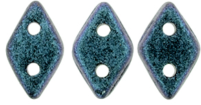 "CzechMates Diamond 4x6mm Tube 2.5"" : Polychrome - Indigo Orchid"