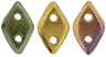 PRE-ORDER CzechMates Diamond 4x6.5mm : Matte - Metallic Bronze Iris