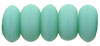 Rondelle 3mm : Matte - Turquoise