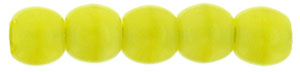 Round Beads 2mm : Chartreuse