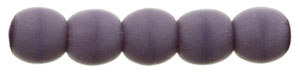 Round Beads 2mm : Matte - Opaque Purple
