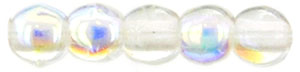 Round Beads 2mm : Crystal AB