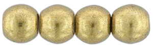 Round Beads 3mm : ColorTrends: Saturated Metallic Ceylon Yellow