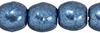 Round Beads 3mm : ColorTrends: Saturated Metallic Bluestone