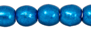 Round Beads 3mm : ColorTrends: Saturated Metallic Galaxy Blue